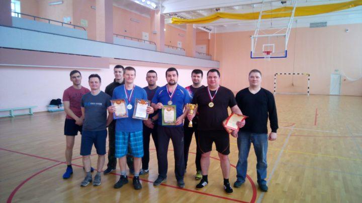 В Печенгском филиале ГПС МО прошли соревнования по настольному теннису