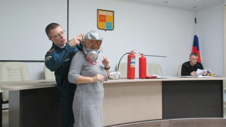 Кировский филиал ГПС МО провел профилактические занятия «Меры пожарной безопасности» с руководителями и работниками, ответственными за пожарную безопасность