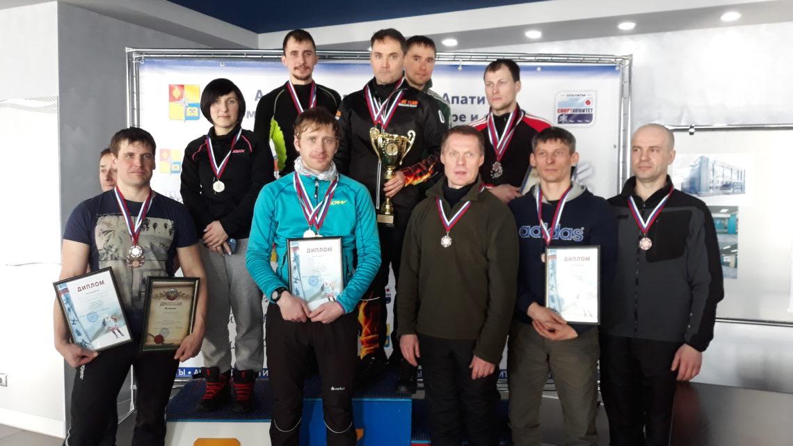 Прошел Чемпионат ГПС Мурманской области по лыжным гонкам