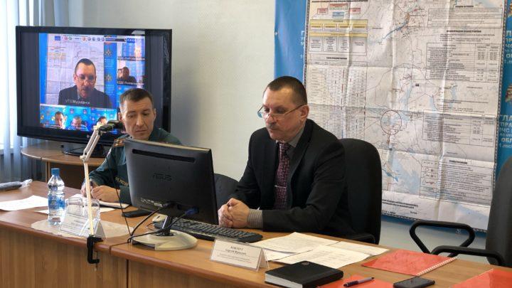 Прошел учебно-методический сбор с работниками эвакуационных органов муниципальных образований