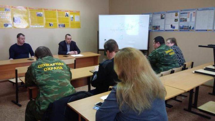 В Печенгском филиале ГПС МО прошло заседание квалификационной комиссии