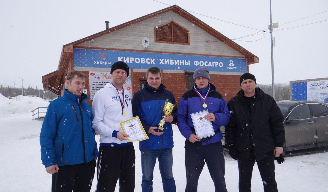 В Кировске провели первенство по лыжным гонкам среди работников Кировского филиала ГПС Мурманской области