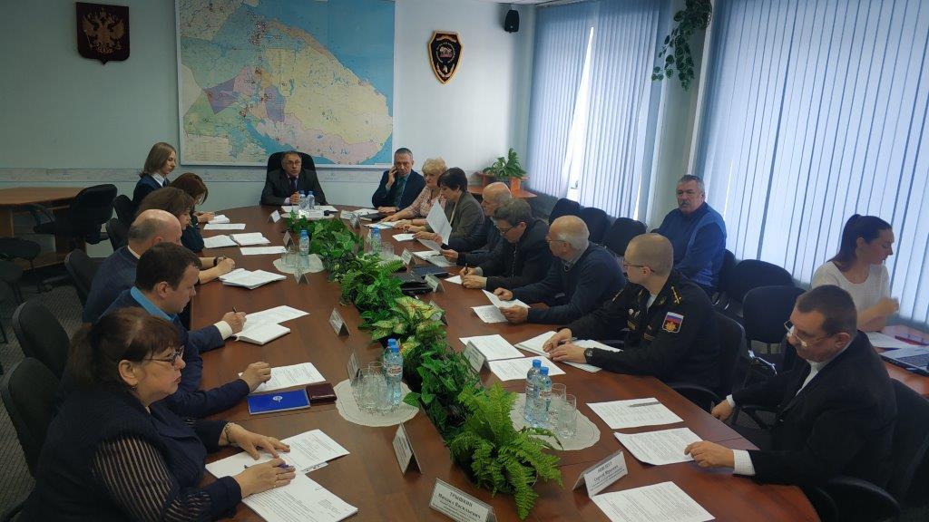 В областном центре состоялось рабочее совещание по подготовке к предстоящей комплексной тренировке по отработке действий сил реагирования на незаконный оборот радиоактивных материалов