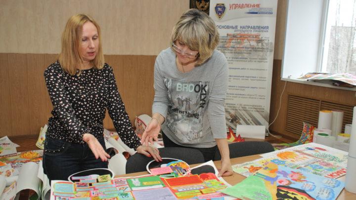 В Мурманске подвели итоги областного детского конкурса стенгазет «Скажем пожарам – нет!»