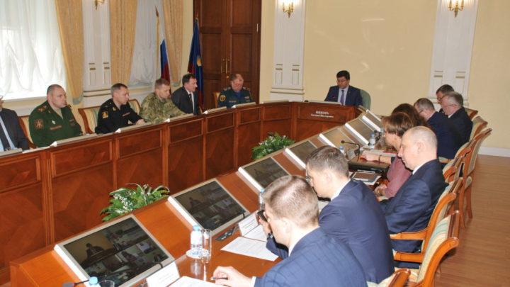 В областном центре прошло заседание КЧС и ПБ Правительства Мурманской области