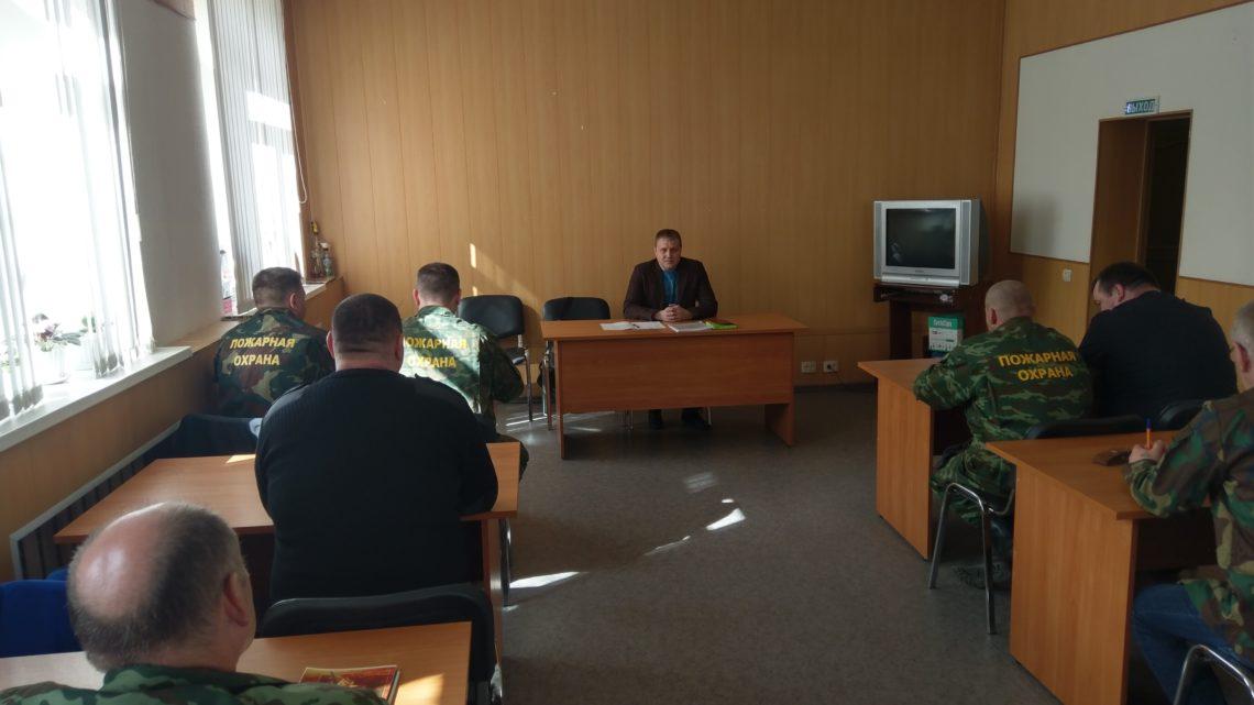 В Управлении по ГОЧС и ПБ МО прошли учебные сборы