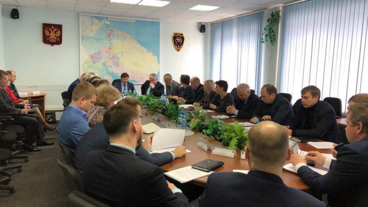 В Управлении по ГОЧС и ПБ Мурманской области прошло заседание Территориальной комиссии по повышению устойчивости функционирования организаций в Мурманской области в ЧС природного и техногенного характера и в военное время