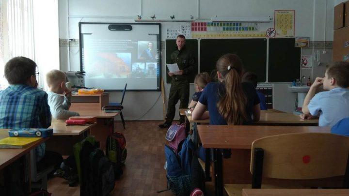 Мурманский филиал ГПС МО принял участие в мероприятиях, направленных на противопожарную пропаганду среди школьников