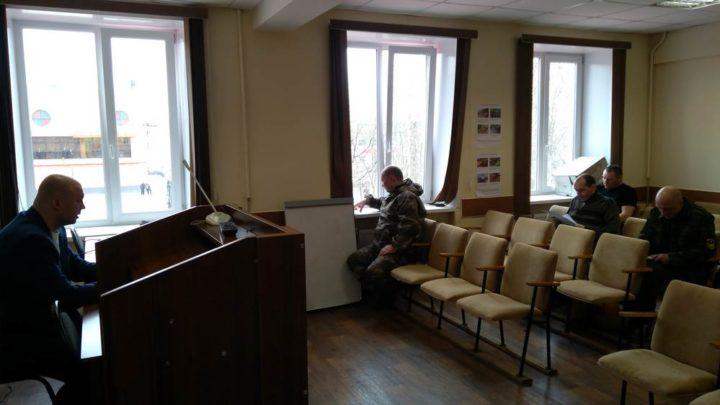 В Кольском филиале ГПС МО прошла аттестация работников на право осуществления руководства тушением пожаров