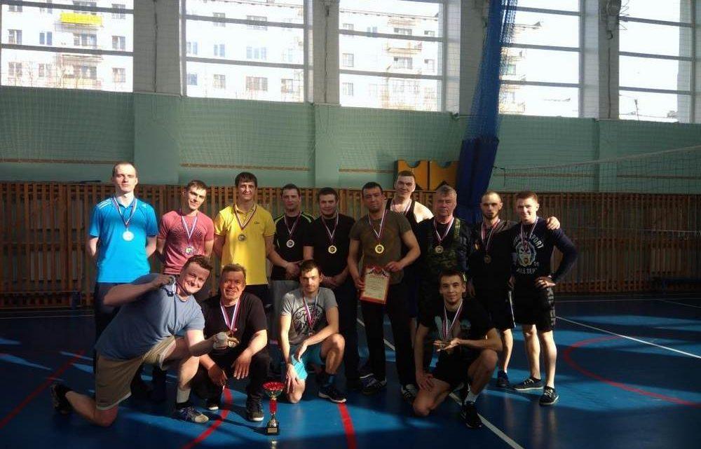 В Печенгском филиале ГПС МО прошли соревнования по волейболу