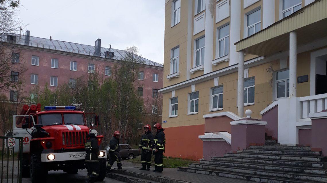 В Кировском филиале ГПС МО прошла практическая отработка планов на общеобразовательные учреждения