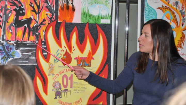 """В Центре ПП и СО подходят к концу тематические экскурсии """"Как предупредить лесные пожары"""""""