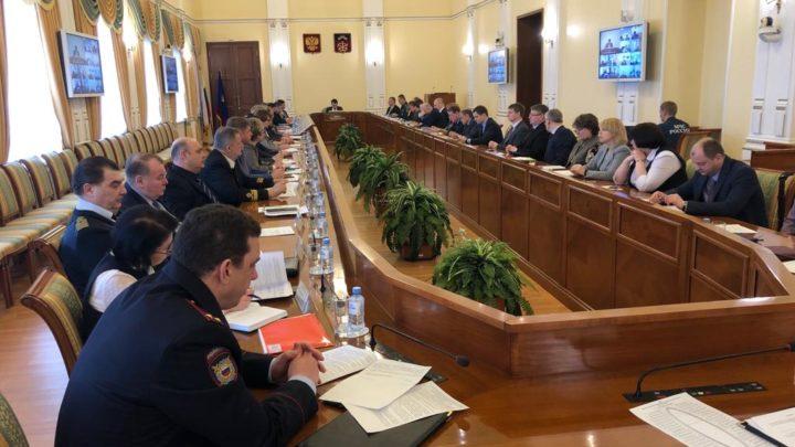 Прошло заседание Комиссии по предупреждению и ликвидации ЧС и обеспечению пожарной безопасности Правительства МО