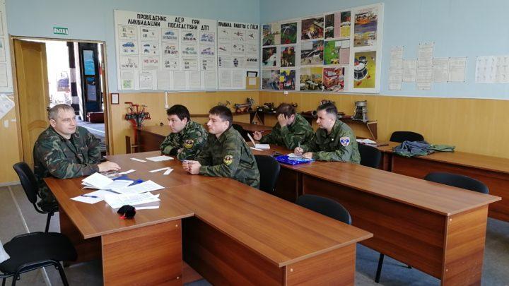 В Кандалакшском филиале ГПС МО прошли учебные сборы