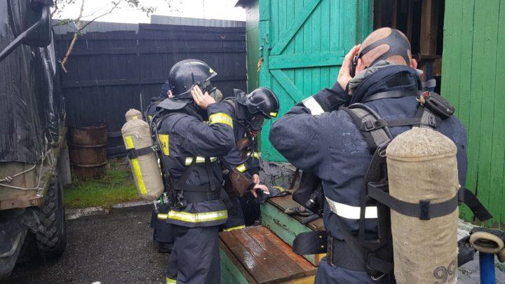 В ПЧ-12 г. Мурманск проведены тренировочные занятия по подготовке газодымозащитников
