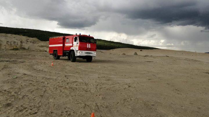 В Кольском филиале ГПС МО прошел I этап соревнований по скоростному маневрированию на пожарном автомобиле