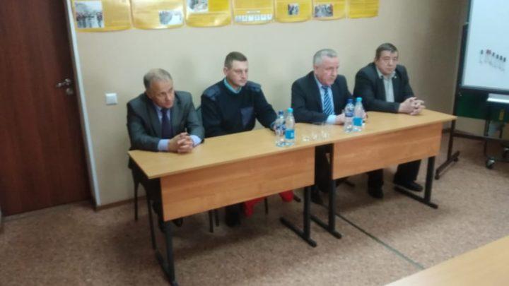 С ознакомительным визитом Печенгский филиал ГПС МО посетил Председатель Комитета по обеспечению безопасности населения Мурманской области