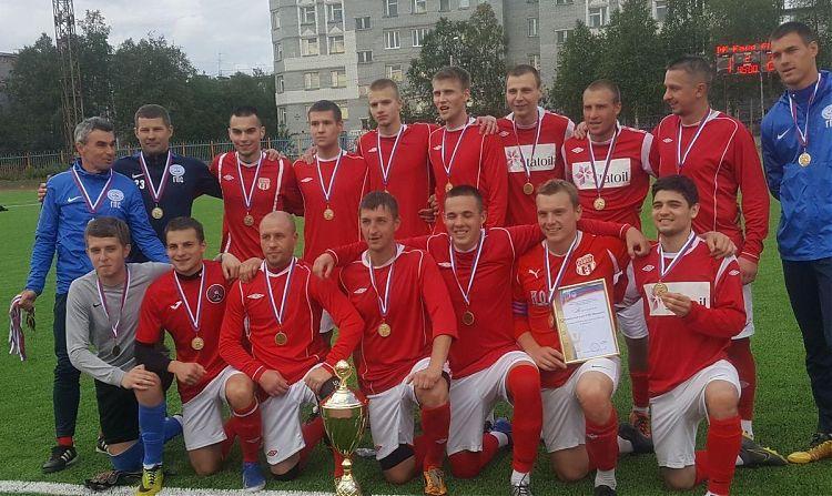 В Апатитах завершился финал Кубка Мурманской области по футболу