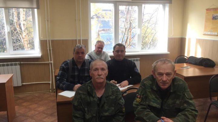Организованы учебные сборы с водителями пожарных автомобилей Оленегорского филиала ГПС Мурманской области