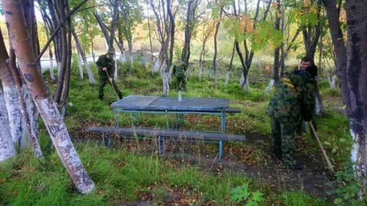 Печенгский филиал ГПС МО принял участие в акции Общероссийского экологического общественного движения «Зелёная Россия»