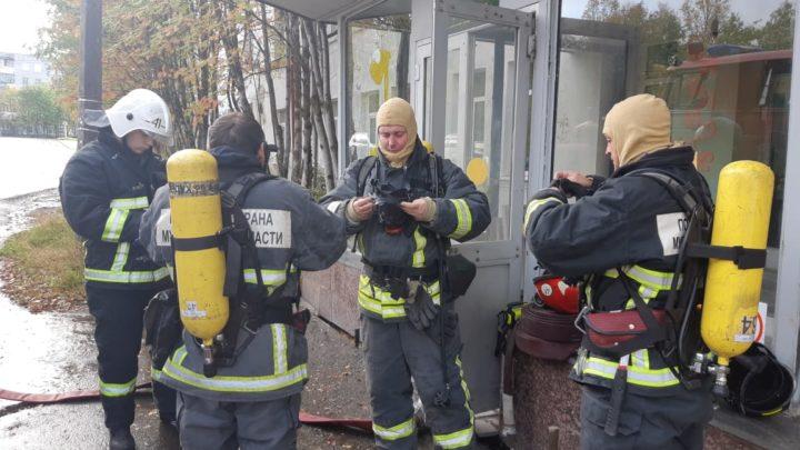 С дежурным караулом ПЧ-41 п. Ревда проведены контрольно-проверочные пожарно-тактические занятия